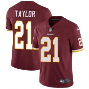 Wholesale Cheap Nike Redskins #21 Sean Taylor Burgundy Red Team Color Men's Stitched NFL Vapor Untouchable Limited Jersey