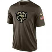 Wholesale Men's Chicago Bears Salute To Service Nike Dri-FIT T-Shirt