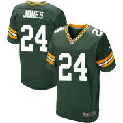 Wholesale Cheap Nike Packers #24 Josh Jones Green Team Color Men's Stitched NFL Elite Jersey