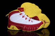 Wholesale Cheap Kid Air Jordan 9 Retro Shoes Red/White/Yellow