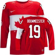 Wholesale Cheap Olympic 2014 CA. #19 Jay Bouwmeester Red Stitched NHL Jersey