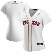Wholesale Cheap Boston Red Sox Nike Women's Home 2020 MLB Team Jersey White