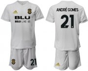 Wholesale Cheap Valencia #21 Andre Gomes Home Soccer Club Jersey
