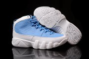 Wholesale Cheap Womens Air Jordan 9 for the love of the game Blue/white