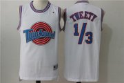 Wholesale Cheap Tune Squad 1 3 Tweety White Stitched Movie Jersey