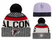 Wholesale Cheap NFL Atlanta Falcons Logo Stitched Knit Beanies 004