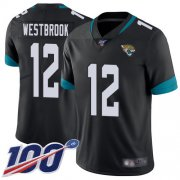 Wholesale Cheap Nike Jaguars #12 Dede Westbrook Black Team Color Men's Stitched NFL 100th Season Vapor Limited Jersey