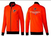 Wholesale Cheap NFL Atlanta Falcons Victory Jacket Orange