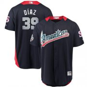 Wholesale Cheap Mariners #39 Edwin Diaz Navy Blue 2018 All-Star American League Stitched MLB Jersey