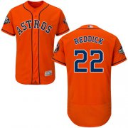 Wholesale Cheap Astros #22 Josh Reddick Orange Flexbase Authentic Collection 2019 World Series Bound Stitched MLB Jersey