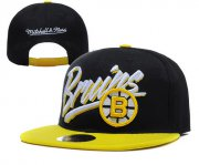Wholesale Cheap Boston Bruins Snapbacks YD005