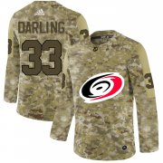 Wholesale Cheap Adidas Hurricanes #33 Scott Darling Camo Authentic Stitched NHL Jersey