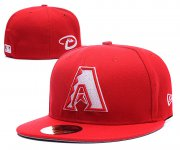 Wholesale Cheap Arizona Diamondbacks fitted hats 07