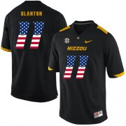 Wholesale Cheap Missouri Tigers 11 Kendall Blanton Black USA Flag Nike College Football Jersey