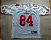 Wholesale Cheap 49ers #84 Randy Moss White Stitched NFL Jersey