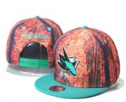 Wholesale Cheap San Jose Sharks Snapback Ajustable Cap Hat GS