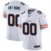 Wholesale Cheap Denver Broncos Custom Nike White Team Logo Vapor Limited NFL Jersey