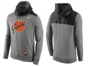 Wholesale Cheap Men's San Francisco Giants Nike Gray Cooperstown Collection Hybrid Pullover Hoodie_1