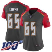 Wholesale Cheap Nike Buccaneers #65 Alex Cappa Gray Women's Stitched NFL Limited Inverted Legend 100th Season Jersey