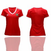 Wholesale Cheap Women's Morocco Blank Home Soccer Country Jersey