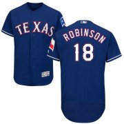 Wholesale Cheap Rangers #18 Drew Robinson Blue Flexbase Authentic Collection Stitched MLB Jersey