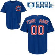 Wholesale Cheap Cubs Personalized Authentic Blue MLB Jersey (S-3XL)