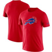 Wholesale Cheap Buffalo Bills Nike Sideline Local Performance T-Shirt Red