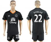 Wholesale Cheap Everton #22 Pienaar Away Soccer Club Jersey