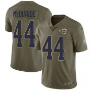 Wholesale Cheap Nike Rams #44 Jacob McQuaide Olive Men's Stitched NFL Limited 2017 Salute to Service Jersey