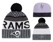 Wholesale Cheap NFL Los Angeles Rams Logo Stitched Knit Beanies 007