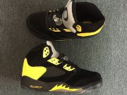 Wholesale Cheap Air Jordan 5 Oregon Duckman PE Black/Yellow