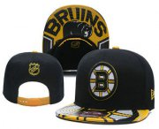 Wholesale Cheap Boston Bruins Snapback Ajustable Cap Hat YD