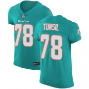 Wholesale Cheap Nike Dolphins #78 Laremy Tunsil Aqua Green Team Color Men's Stitched NFL Vapor Untouchable Elite Jersey