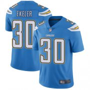 Wholesale Cheap Nike Chargers #30 Austin Ekeler Electric Blue Alternate Men's Stitched NFL Vapor Untouchable Limited Jersey