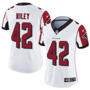 Wholesale Cheap Nike Falcons #42 Duke Riley White Women's Stitched NFL Vapor Untouchable Limited Jersey