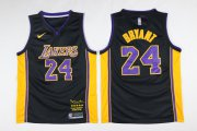 Wholesale Cheap Lakers 24 kobe Bryant Black Mamba Nike Swingman Jersey