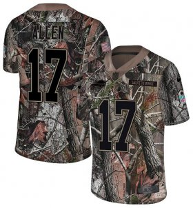 Wholesale Cheap Nike Bills #17 Josh Allen Camo Men\'s Stitched NFL Limited Rush Realtree Jersey