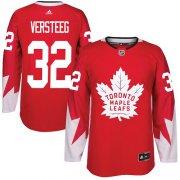 Wholesale Cheap Adidas Maple Leafs #32 Kris Versteeg Red Team Canada Authentic Stitched NHL Jersey