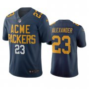 Wholesale Cheap Green Bay Packers #23 Jaire Alexander Navy Vapor Limited City Edition NFL Jersey