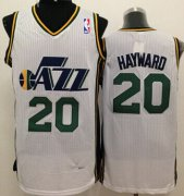 Wholesale Cheap Utah Jazz #20 Gordon Hayward White Swingman Jersey