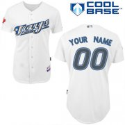 Wholesale Cheap Blue Jays Authentic White Cool Base MLB Jersey (S-3XL)