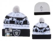 Wholesale Cheap Oakland Raiders Beanies YD014