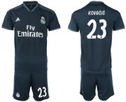 Wholesale Cheap Real Madrid #23 Kovacic Away Soccer Club Jersey