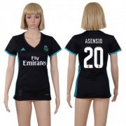Wholesale Cheap Women's Real Madrid #20 Asensio Away Soccer Club Jersey
