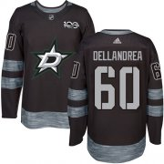Cheap Adidas Stars #60 Ty Dellandrea Black 1917-2017 100th Anniversary Stitched NHL Jersey
