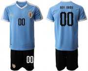 Wholesale Cheap Uruguay Personalized Home Soccer Country Jersey