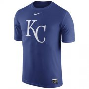 Wholesale Cheap Kansas City Royals Nike Authentic Collection Legend Logo 1.5 Performance T-Shirt Royal