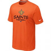 Wholesale Cheap Nike New Orleans Saints Big & Tall Critical Victory NFL T-Shirt Orange