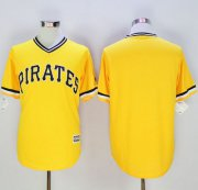 Wholesale Cheap Pirates Blank Gold New Cool Base Stitched MLB Jersey