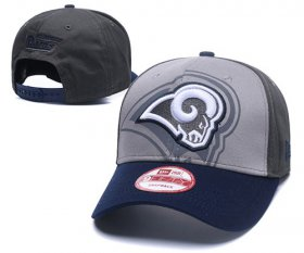 Wholesale Cheap NFL Los Angeles Rams Stitched Snapback Hats 045
